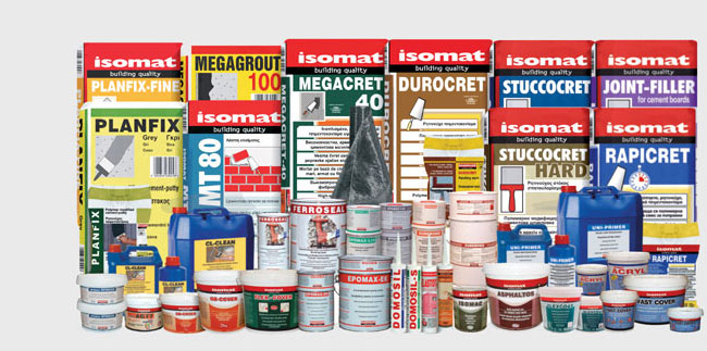 Paints and Repairing Materials